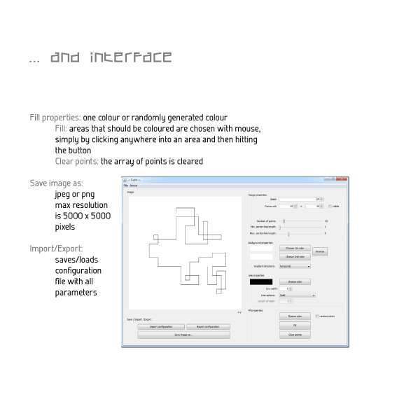 Interface of Cubic application